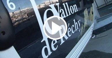 Vercorin: nouvelle télécabine (un reportage de canal9)