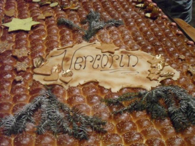 Ne manquez pas l'incomparable galette géante à Vercorin (6.1.2013)