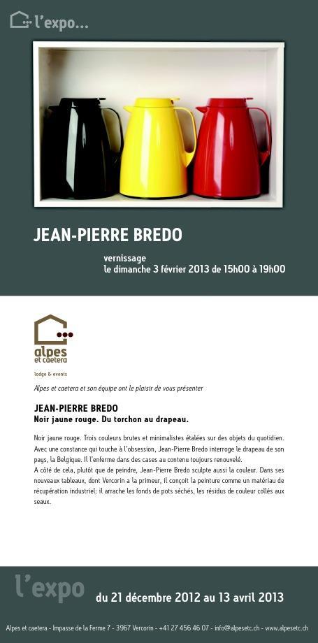 Les œuvres de Jean-Pierre Bredo chez Alpes et cætera