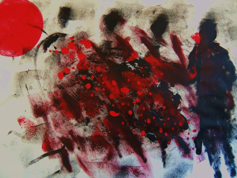 Oeuvres de Ardashir Zand à la Galerie Minuscule (19.01.2013)