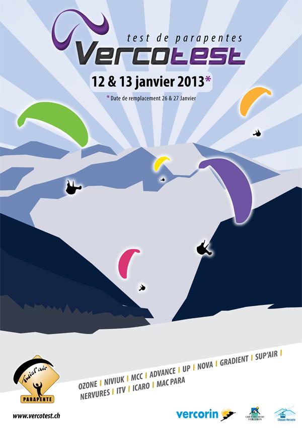A ne pas manquer: VERCOTEST - 12-13 janvier 2013!