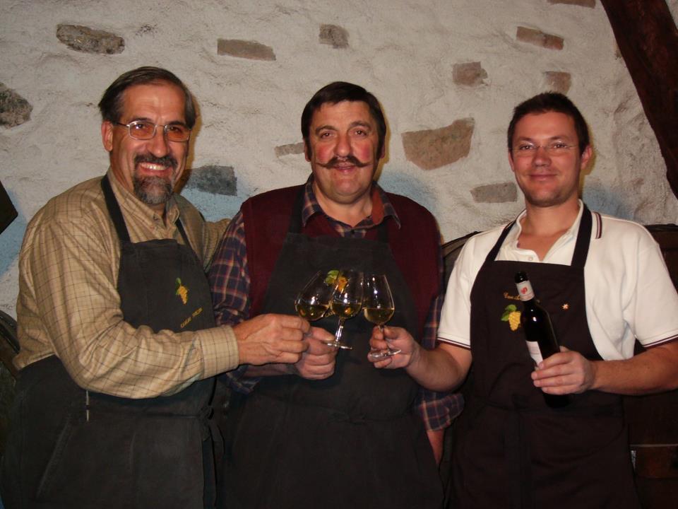 Dégustation de vin avec les encaveurs de Chalais