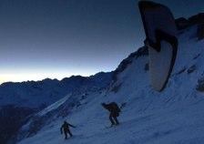 Passe-moi les jumelles sur le Val d'Anniviers - La nuit en hiver
