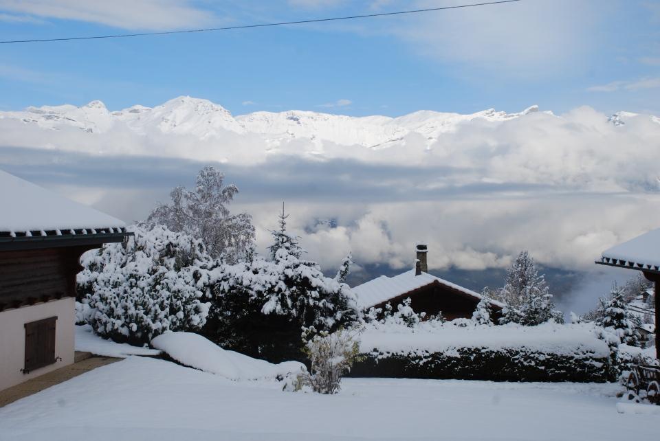 Première neige 2014